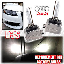 2x audi a4 sline d3s factory xenon hid headlight replacement ls