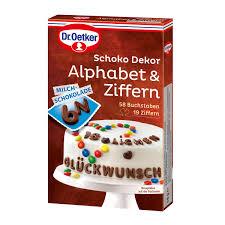 dr oetker schoko alphabet ziffern