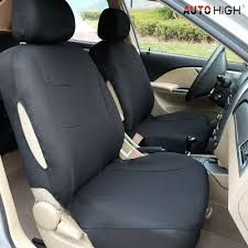 100 Car Seat In Truck Details About Auto Cover Black Front Row Head Rests Seat Covers For SUV Van