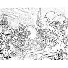 He Man Thundercats 1 Coloring Book Variant Product Image
