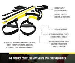 Trx Ceiling Mount Alternative by Trx Training Pro 3 Suspension Training Kit Commercial Grade