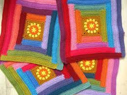 Attic24 Sunny Log Cabin Blanket