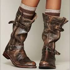 27 off free people boots bed stu gogo boots 8 5 teak lux brown