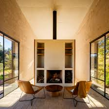 100 Home Interior Mexico PPAA Arquitectos Completes Isolated Stone Retreat In