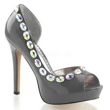 rhinestones shoes hd bridal shoes pleaser wedding shoes