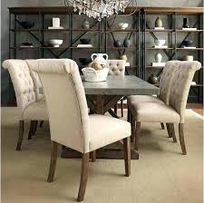 Tufted Dining Room Chairs High Back