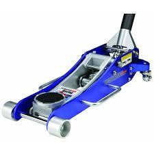 amazon com 2 tons aluminum racing floor jack with rapid pump