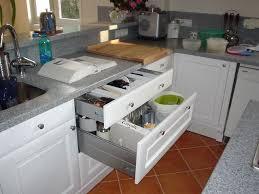 cuisine plan de travail gris cuisine blanche plan de travail gris élégant galerie cuisine plan de
