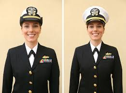 Proposed Navy women s dress uniforms to resemble male version