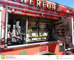 Hand Tools, Axe, Fire Truck Equipment, Firefighting Tools Editorial ...