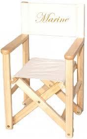 siege metteur en fauteuil metteur en scène teinté naturel personnalisé diabolo