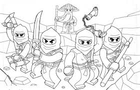 Perfect Free Printable Ninjago Coloring Pages 33 About Remodel For Kids With
