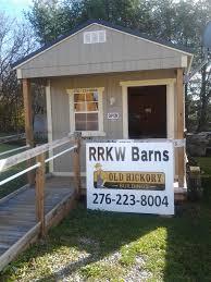 Shed Row Barns Virginia by Rrkw Barns Old Hickory Buildings U0026 Sheds Wytheville Va
