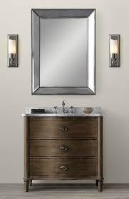 Restoration Hardware Bathroom Vanity Mirrors by Restoration Hardware Bath Vanity Look Alike Bathroom Ideas Stylish