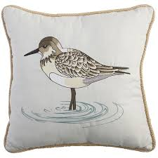 Pier One Outdoor Throw Pillows by Sandpiper Embroidered Pillow Pier 1 Imports