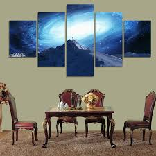 Dragon Ball Z Decorations by Aliexpress Com Buy 5 Piece Dragon Ball Z Poster Picture Canvas
