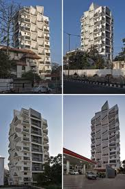 100 Sanjay Puri Architects This Building Was Designed With A Jumble Of Uniquely Shaped