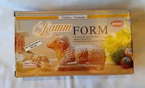 zenker lamm backform 1l osterlamm kuchen ostern mit rezept