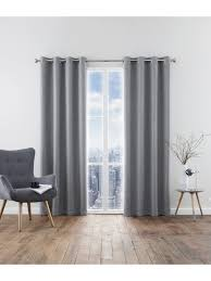 Blackout Curtain Liner Eyelet by Harlow Blackout Eyelet Curtains Grey Ponden Homes