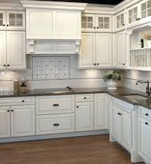 kitchen cabinets with cup pulls