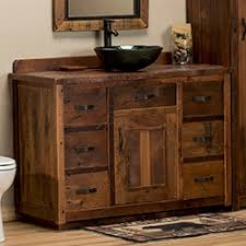Rustic Bathroom Vanities Bathroom Vanities