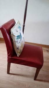 Retro Vintage Vinyl Red Lounge Chair