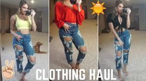 SUMMER CLOTHING HAUL │ LAURA'S BOUTIQUE