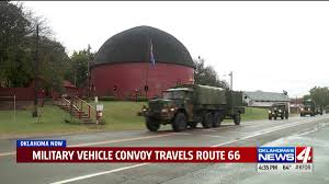 Pumpkin Patch Oklahoma Arcadia by Historic Military Convoy Travels Through Arcadia Kfor Com