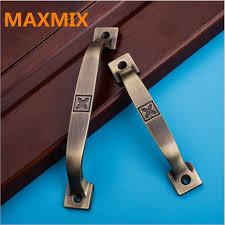 maxmix 5 stücke einfache aufliegende schublade griff schrank kleiderschrank türgriff unsichtbare tür badezimmer holz türgriff