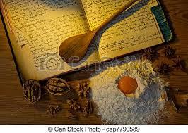 vieux livre de cuisine recipes livre cuisine vieux manuscrit photographies de stock