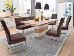 säulentisch bruneck 11 pinie weiss oak nb 180 280 x100x77 cm