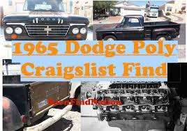 100 Craigslist Dodge Trucks Early 65 Dodge D100 Utiline Truck CL Find