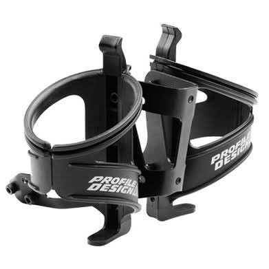 Profile Design RM-L Bicycle Water Bottle Cage System - Black