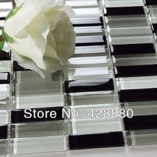 cheap black glass wall tiles find black glass wall tiles deals on