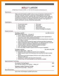 resume for firefighter paramedic basic resume exles
