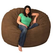 Shop Giant Memory Foam Bean Bag 6-foot Chair - On Sale - Free ... X Rocker 132 Round Extra Large Shiny Bean Bag Multiple Colors Chair Big Inflatable Seat Bearing 220lb For Adult Football Sport L White And Azure Cover Made In Eco Leather Folding Chairs Plastic Wooden Fabric Metal Shop Asher Faux Suede 65foot Lounge Beanbag By Christopher Bed Beans Funky Sports Adults Cordaroys Convertible Bags Theres A Bed Inside Full Fashion Sofa Air Soccar Self Types Of Its Hippie History June 2019