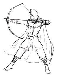 Picture Robin Hood Coloring Pages 64 About Remodel Print With