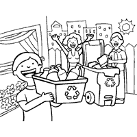 Earth Day Coloring Pages Surfnetkids