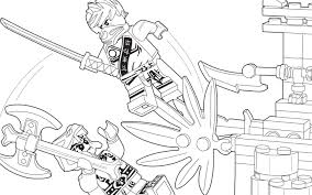 Ninjago Stone Army Coloring Pages Printable Coloring Page For Kids