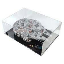 Lego Room Millennium Falcon Star Wars Technic Display Case Falcons Hawks Window