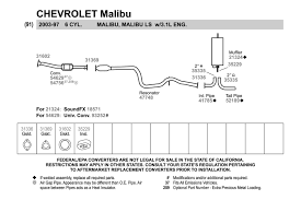 100 2011 Malibu Parts Chevy Exhaust Diagram Wiring Diagram Img