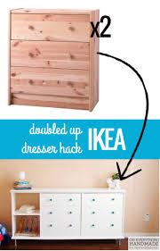 Ikea Kullen Dresser White by Double The Fun Ikea Rast Dresser Hack Dresser Storage And Ikea