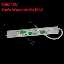 led trafo ip67 230v 12v 1 30w leds driver wasserfest sfhs org