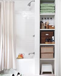 11 Space Saving Ideas For Your Small Bathroom The Best Storage Ideas For Small Bathrooms Martha Stewart