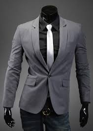 Men 039 S One Button Separate Suit Casual