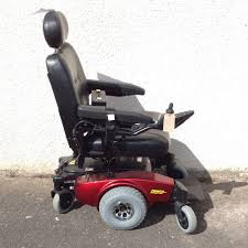 pronto m61 red powerchair