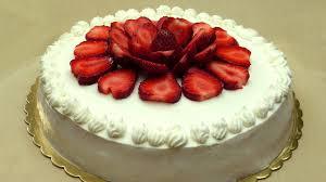 recette de gâteau aux fraises cake éponge
