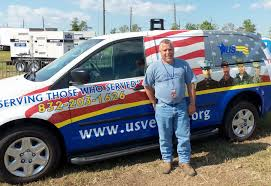 100 Wagoners Trucking Local Business Owners Donate Van To Wounded Vets Community
