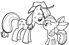 My Little Pony Coloring Book Pages 17 Friendship Is Magic