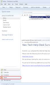 Nextech Help Desk Number by Windows Live Mail Rss Feeds